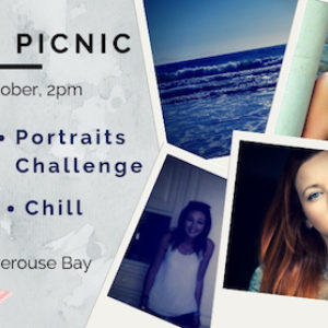 Photo Picnic - share ideas, chill, try portrait challenge + have fun!