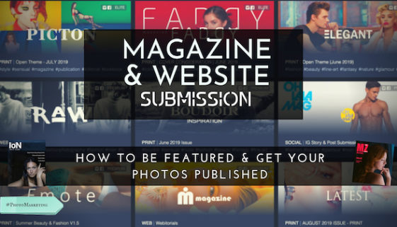 How to be featured & get your photos published – magazine and web submission