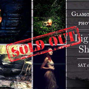 Light & Shadow - Glamour Nude Photoshoot in Forest and Waterfall