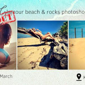 Glamour Beach & Rocks Photoshoot