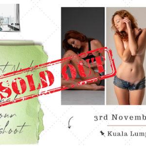 Fine Art & Sensual Glamour Photoshoot - Kuala Lumpur