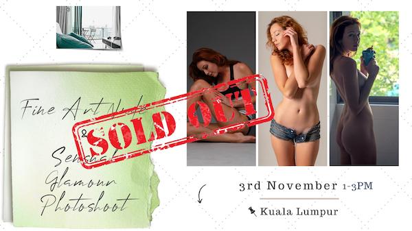 Fine Art & Sensual Glamour Photoshoot – Kuala Lumpur