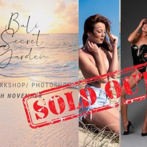 Weekend BALI SECRET GARDEN - sensual glamour and fine art nude photoshoot