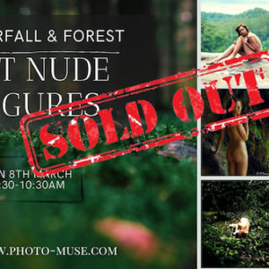 Waterfall ArtNude Figures & Fine Art Photoshoot