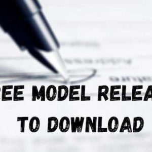Model Release Form - free to download