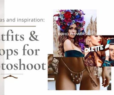 Outfits & props for a photoshoot – ideas and inspiration